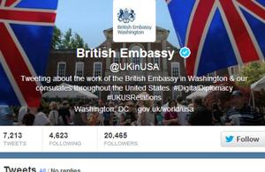 UK in USA on Social Media