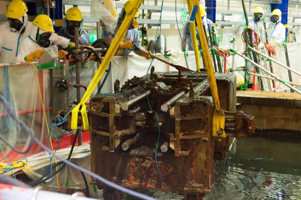 Waste retrieval at Sellafield