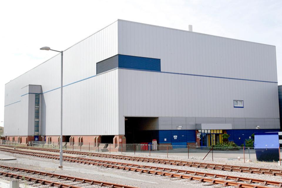 ILW store at Sellafield