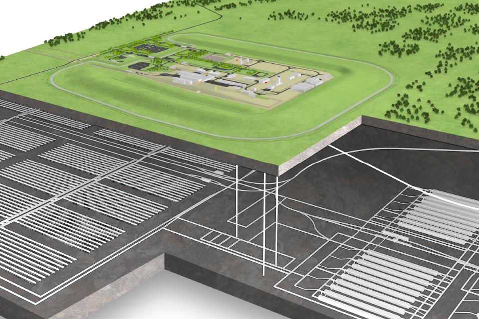 Figure 4: UK Geological Disposal Facility concept