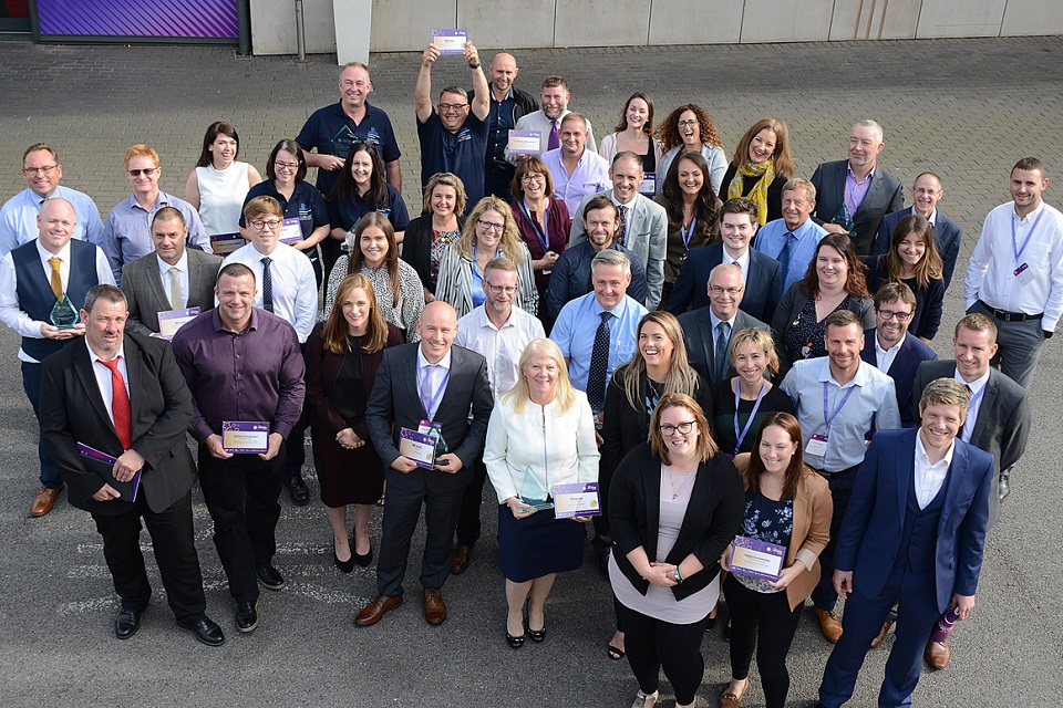 All winners from NDA Safety Awards 2019