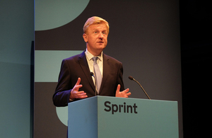 Oliver Dowden at Sprint 19