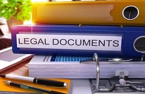 Legal Documents Folder