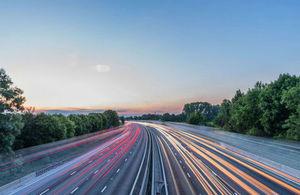 Motorway time lapse