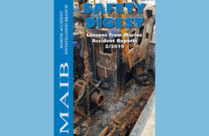 Front cover of the latest MAIB Safety Digest