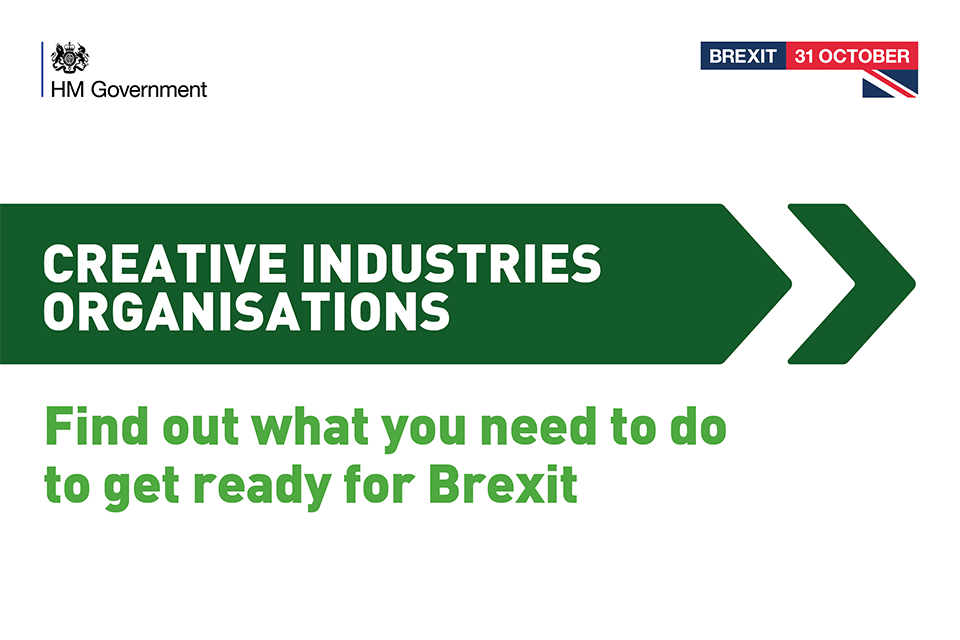 Creative Industries Get Ready for Brexit graphic