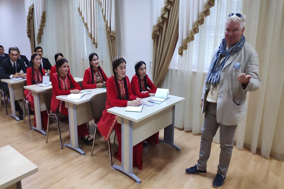 Chevening in Turkmenistan
