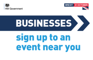 Sign up to events to get ready for Brexit