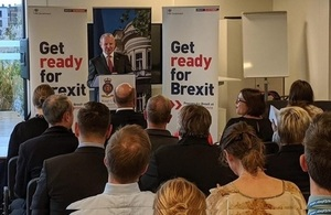 Meeting with British citizens at the British School of Latvia, 1 October 2019