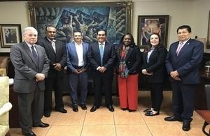 UK delegation meeting with Honduran Congressmen