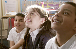 More than 4 in 5 pupils say they are happy