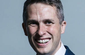 Picture of Education Secretary Gavin Williamson