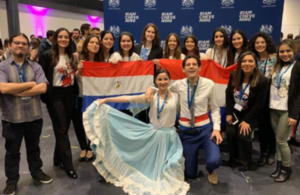 Paraguayan Chevening scholars at the orientation event last weekend