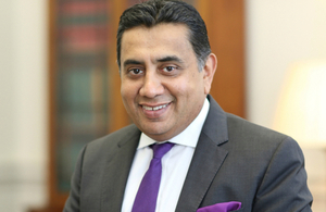 Lord (Tariq) Ahmad of Wimbledon, the Prime Minister's Special Representative on Preventing Sexual Violence in Conflict and FCO Minister of State for the Commonwealth, UN and South Asia.