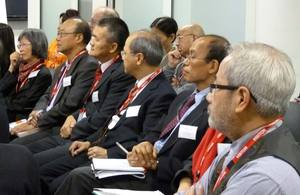 Audience at the Chinese community event