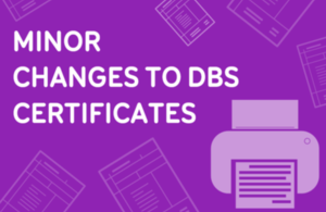 DBS Certificates Graphic