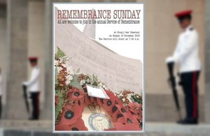 Remembrance Sunday Service, Singapore