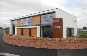 The Devils Porridge Museum building