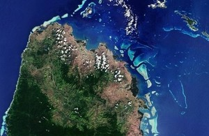 IPP CommonSensing satellite image working on sustainable development in Small Island Developing States Fiji, the Solomon Islands and Vanuatu