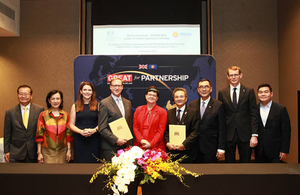 The UK and ASEAN-BAC sign a Letter of Intent