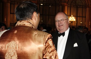 Eric Pickles at the Eid reception