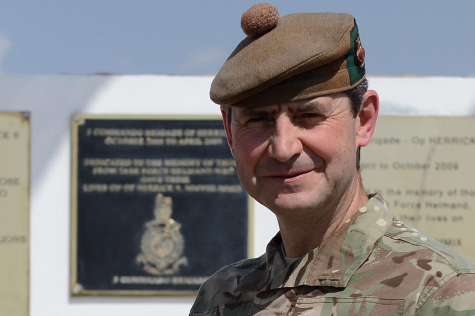 Brigadier Bob Bruce