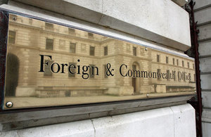 Foreign Office sign