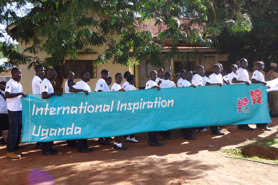International Inspiration Uganda. Picture: DFID