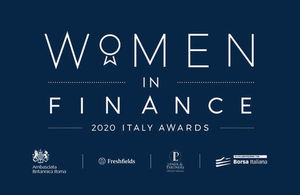 Women in Finance - Italy Awards 2020