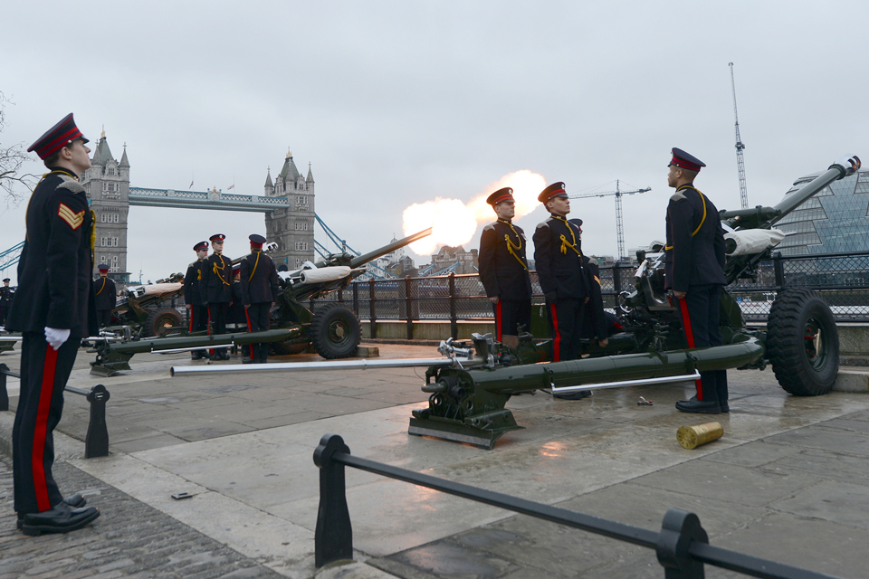 Members of the Honourable Artillery Company