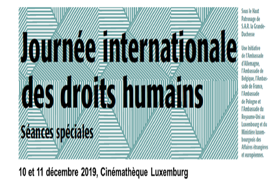 News story: International Human Rights Day Film Festival in Luxembourg