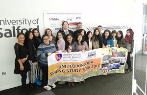 LSPR Jakarta study tour