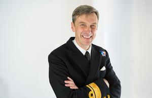 UK National Hydrographer RAdm Peter Sparkes