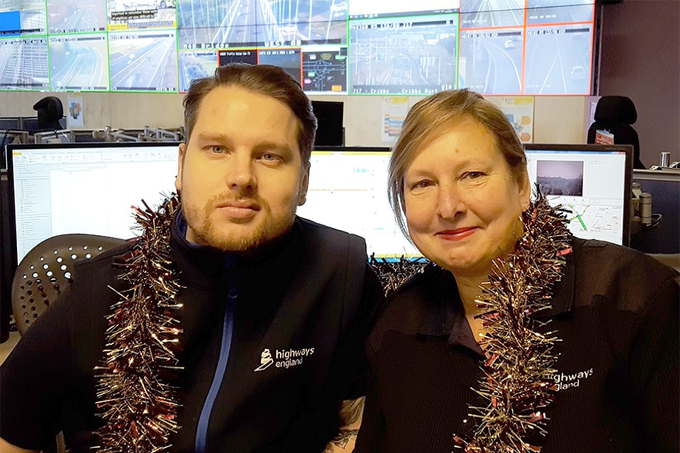 Beverley Mears and Tom Daw will be manning the control room.