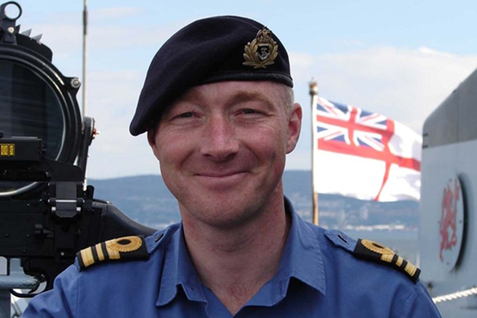 Commander Andy Lamb OBE