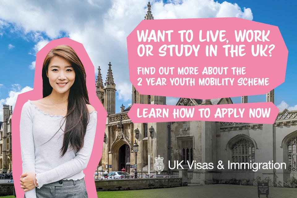 Uk Youth Mobility Scheme 2020 For Hong Kong Sar Passport Holders Gov Uk