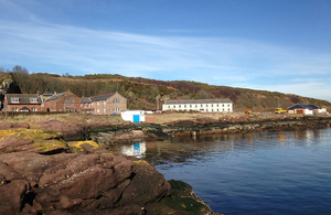 A view of Millport Marine Station