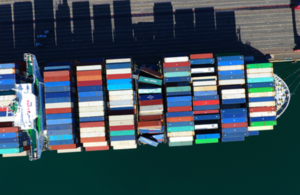 Container collapse on board CMA CGM G. Washington