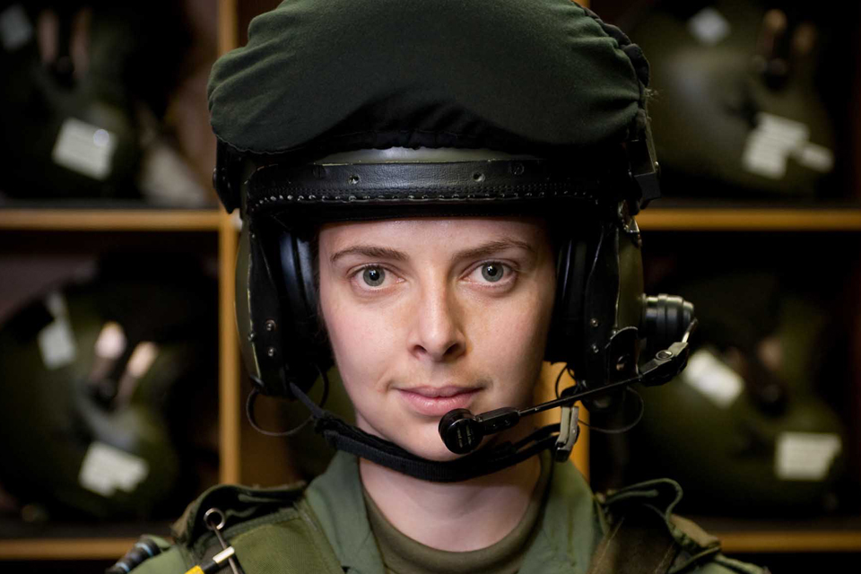 Flight Lieutenant Rebeca Lee
