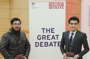 Asmat Ullah from BUITEMS was the winner and Muhammad Umair from the University of Balochistan was the runner-up.