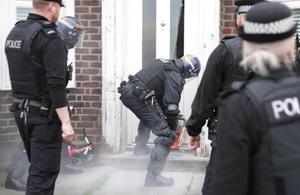 An image of a raid.