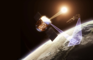 Artist's conception of TRUTHS satellite in orbit