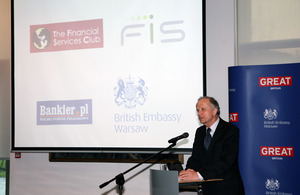 Prof. Grzegorz Kołodko speaks at the Financial Services Club launch