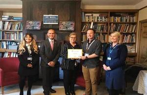 Fern House Surgery in Witham receive Gold Award