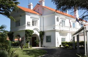 British Embassy Montevideo