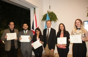 Chevening scholars in welcome home event
