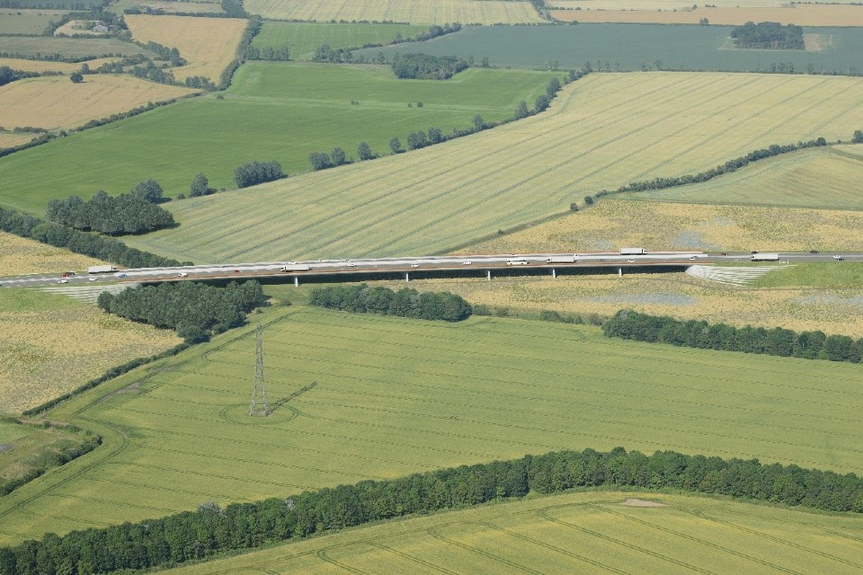 This viaduct will carry the new Lower Thames Crossing route over the Mardyke valley