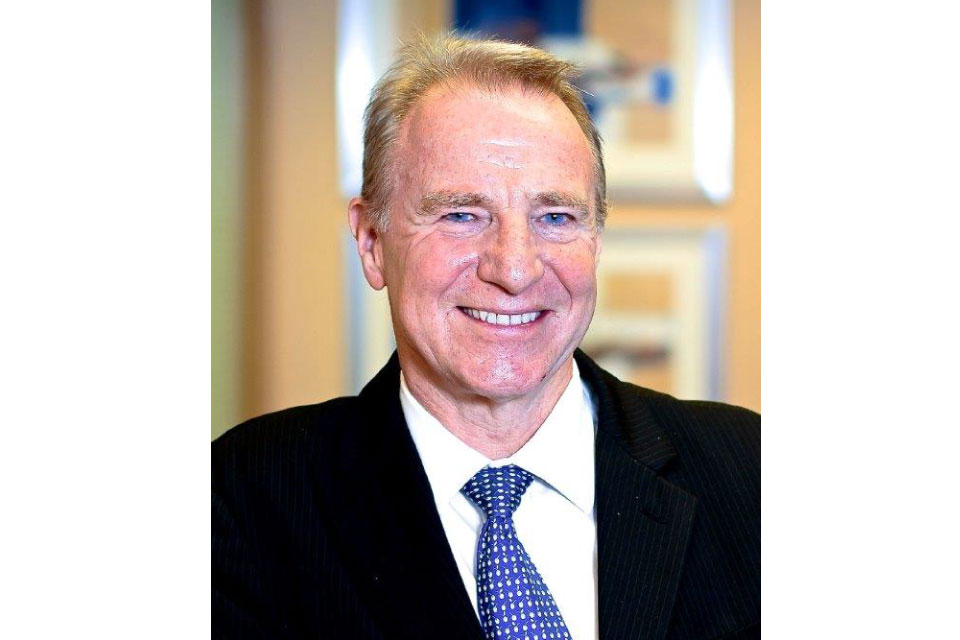 Picture of Ian Smith, one of the newly appointed Non-Executive Directors.