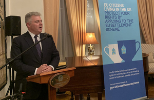 Security Minister speaks to Italian citizens about the EU Settlement Scheme