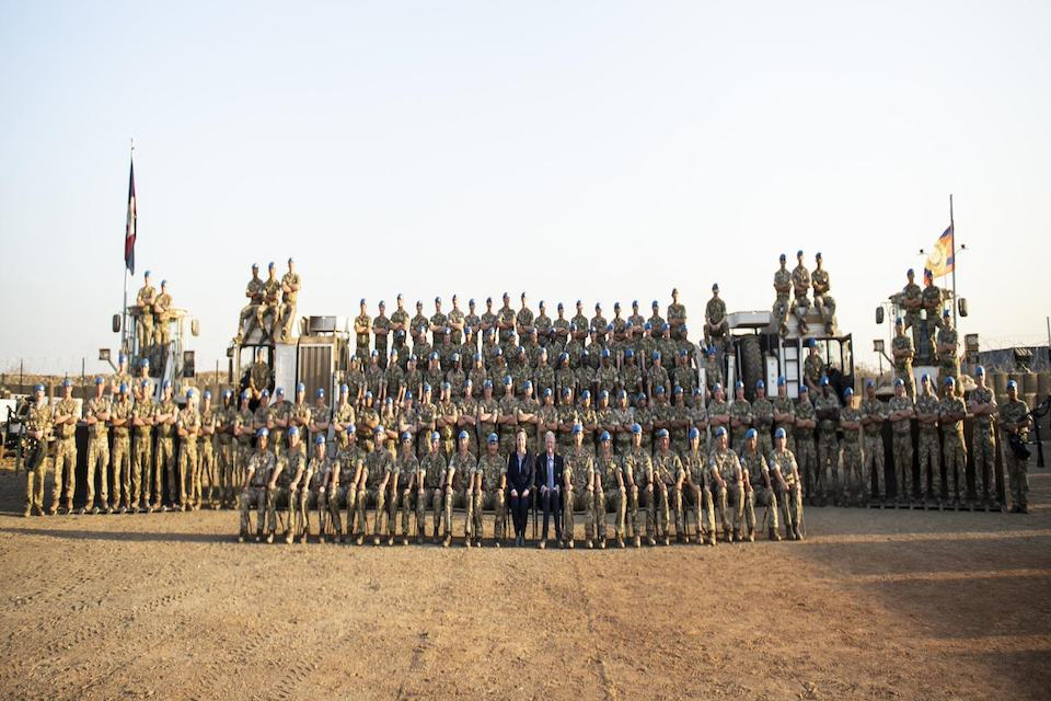 Over the last four years the UK has had 300 personnel deployed to the UN mission in South Sudan